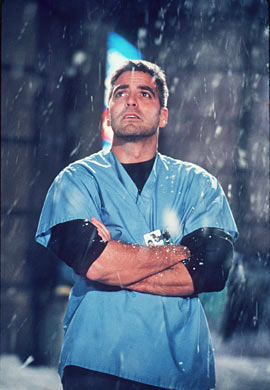 George Clooney as ER Nurse