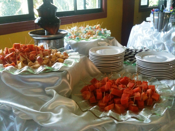 Finger Foods at the Wedding
