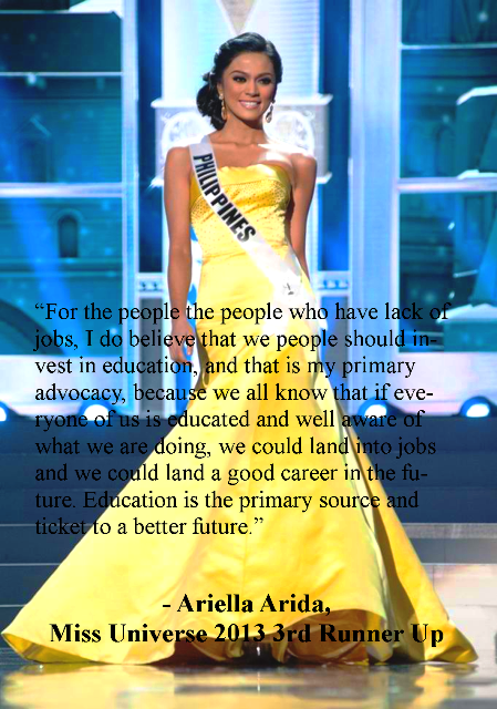 Miss Philippines Arriela Arrida Answer in Miss Universe 2013