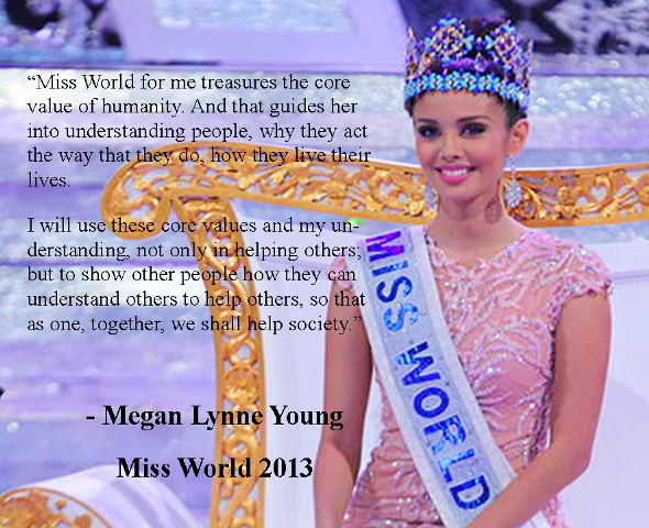 Megan Young Answer in Miss World 2013