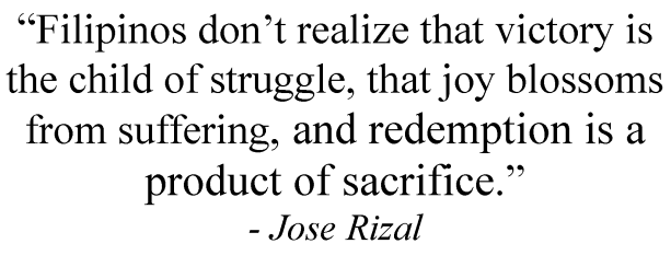 jose rizal quotes in english
