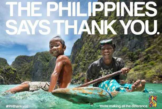 #PHThankYou Thank You World