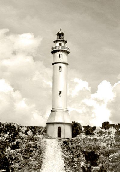 Original Photo of Maniguin Island Lighthouse