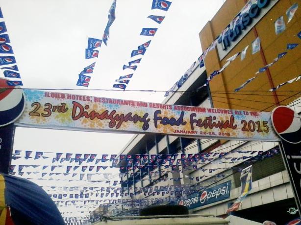 Dinagyang Food Festival 2015