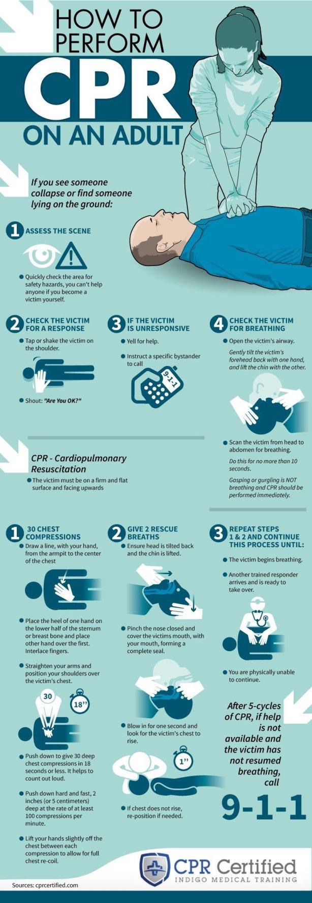Cardiopulmonary Training Adult
